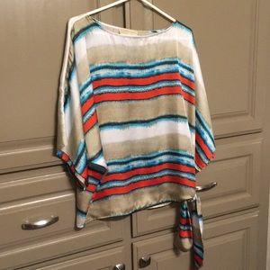 Michael Kors raglan sleeve blouse
